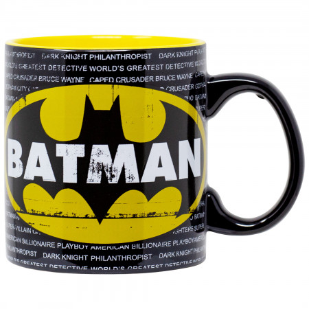 Batman Logo Jumbo 20 Ounce Mug
