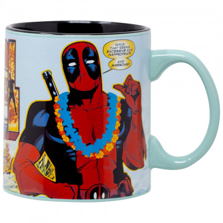 Deadpool Greetings 20 Ounce Mug