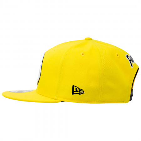 Yellow Lantern Sinestro Corp Color Block New Era 9Fifty Adjustable Hat