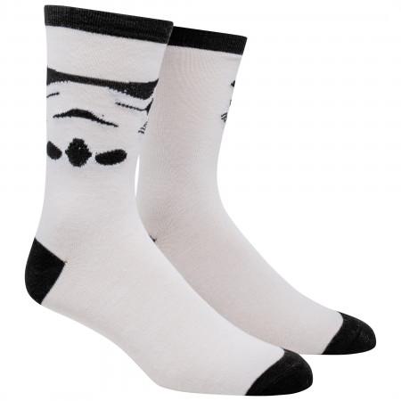 Star Wars Stormtrooper Costume Character Crew Socks