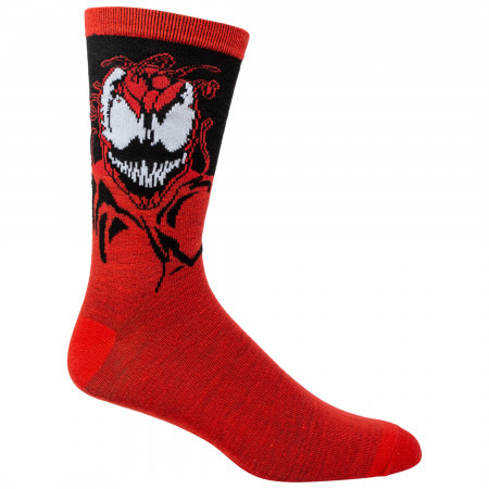 Spider-Man Venom Maximum Carnage Crew Socks