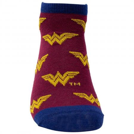 Wonder Woman 1984 Movie Shorties Women's 2-Pack Socks