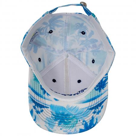 Corona Extra Logo Straw Stitched Adjustable Strapback Hat
