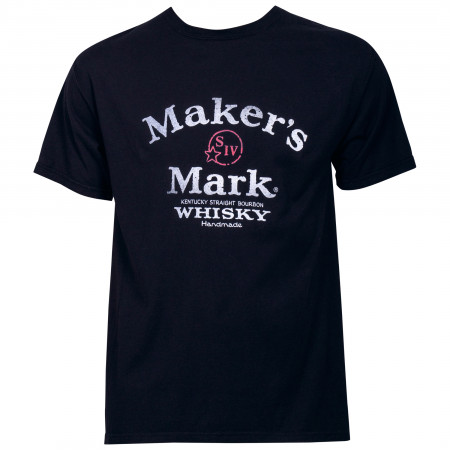Maker's Mark Arch Logo Distressed T-Shirt