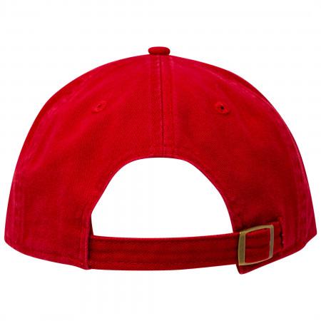Spider-Man Classic Symbol New Era Casual Classic Adjustable Dad Hat
