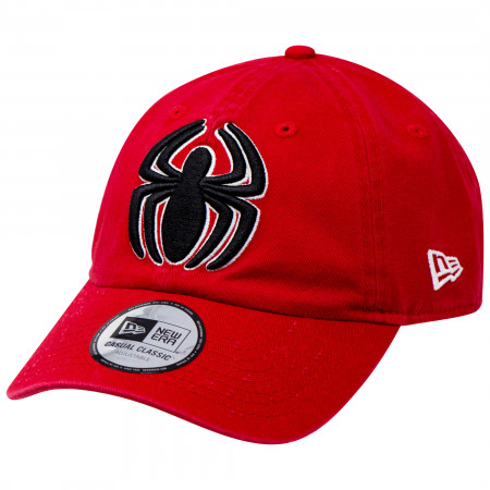 Spider-Man Classic Symbol New Era Casual Classic Adjustable Dad Hat