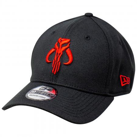 Star Wars The Mandalorian Red Mythosaur New Era 39Thirty Fitted Hat
