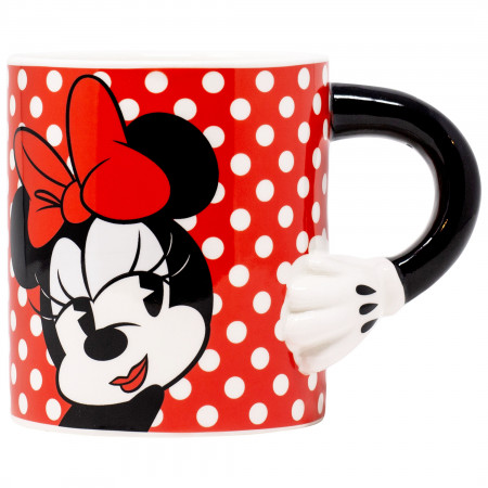 Disney Minnie Mouse 20 Ounce Sculpted Handle Mug