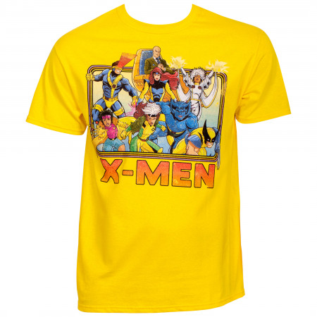 Marvel X-Men 90's Cartoon Lineup T-Shirt