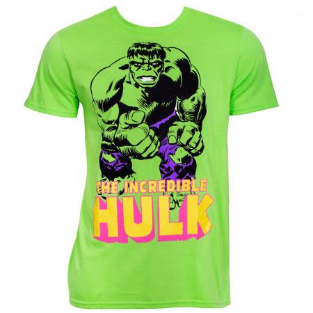 The Incredible Hulk Retro Fist T-Shirt