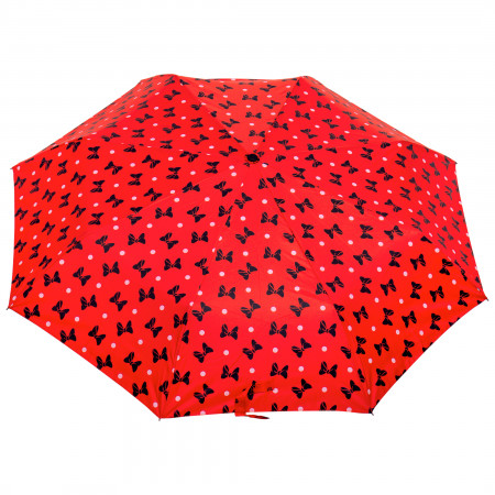 Disney Minnie Mouse Black Bow Umbrella