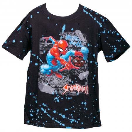 Spider-Man Webbed Wonder Youth T-Shirt