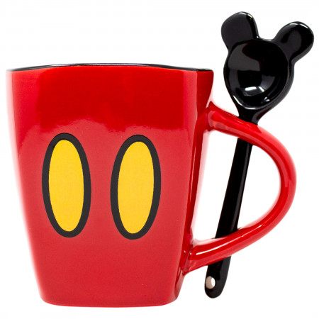 Disney Mickey Mouse Shorts 11oz Mug With Spoon