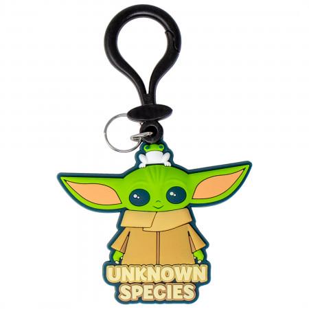 Star Wars The Child Unknown Species PVC Bag Clip