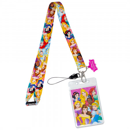 Disney Princess Lanyard with ID Badge Holder