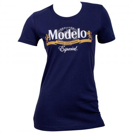 Modelo Especial Women's Blue T-Shirt