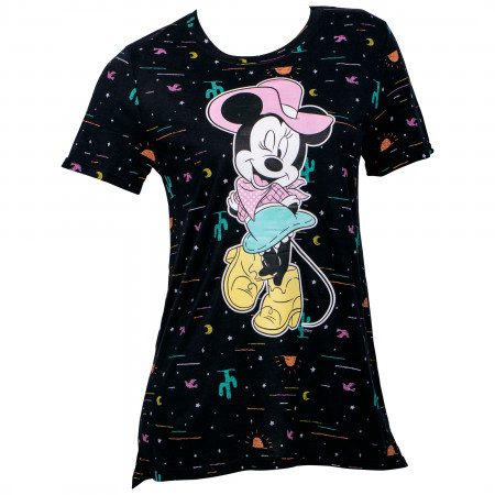 Minnie Mouse Cowgirl Women's T-Shirt