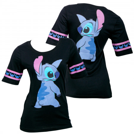Disney Lilo & Stitch Front and Back Women's T-Shirt