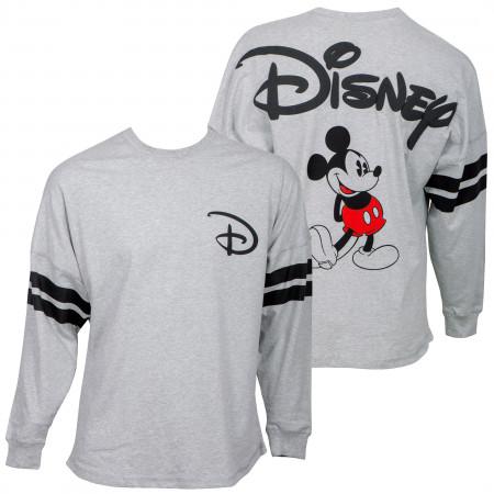 Disney Mickey Mouse Express Disney Grey Long Sleeve Shirt