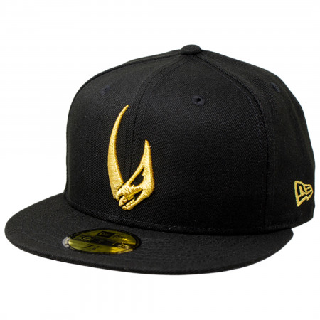 Star Wars The Mandalorian Mudhorn Sigil New Era 59Fifty Fitted Hat