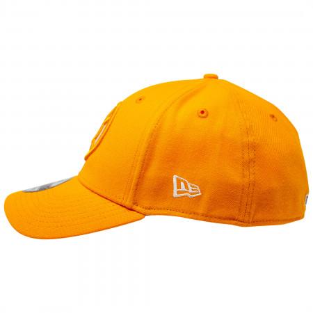Orange Lantern Color Block New Era 39Thirty Fitted Hat