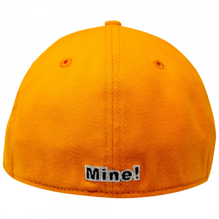 Orange Lantern Color Block New Era 39Thirty Fitted Hat
