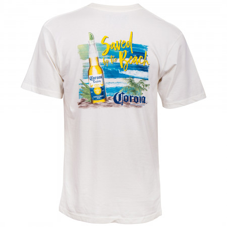 Corona Extra Saved By The Beach T-Shirt