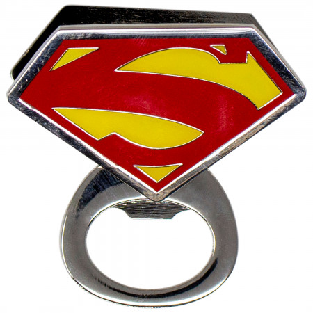 Superman Symbol Bottle Opener Magnet