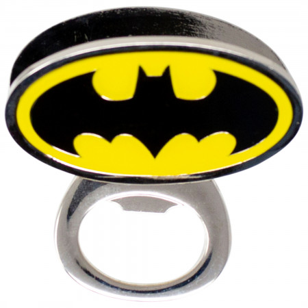 Batman Symbol Bottle Opener Magnet