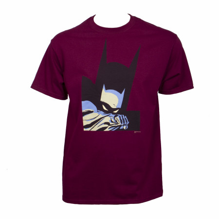 Batman Year One Maroon T-Shirt