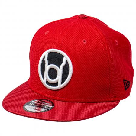 Red Lantern Symbol Armor New Era 9Fifty Adjustable Hat