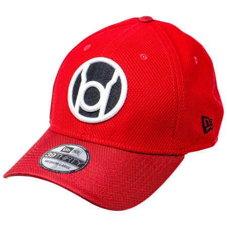 Red Lantern Symbol Armor New Era 39Thirty Fitted Hat