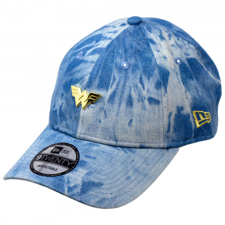 Wonder Woman 1984 Movie Logo Denim 9Twenty Adjustable New Era Hat