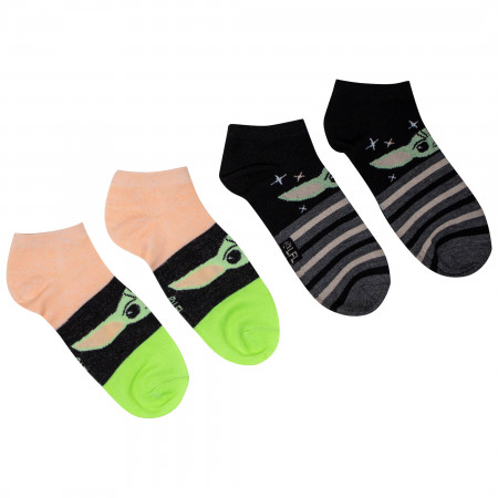Star Wars the Mandalorian The Child Women's 6-Pack Shorties Socks