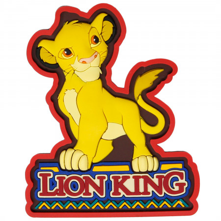 Lion King Simba Soft Touch Magnet