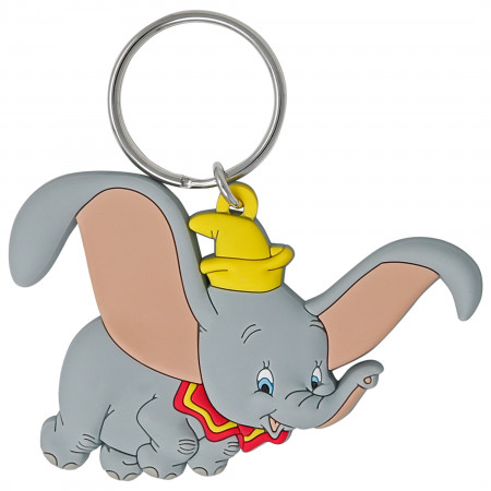 Dumbo Flying Soft Touch Keychain