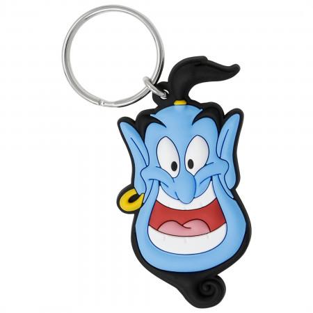 Aladdin Soft Touch Genie Keychain