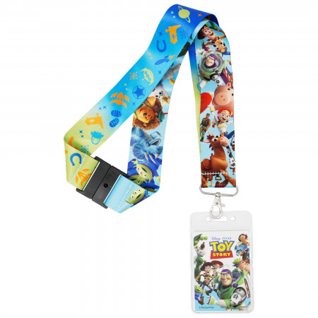 Toy Story Character Lanyard