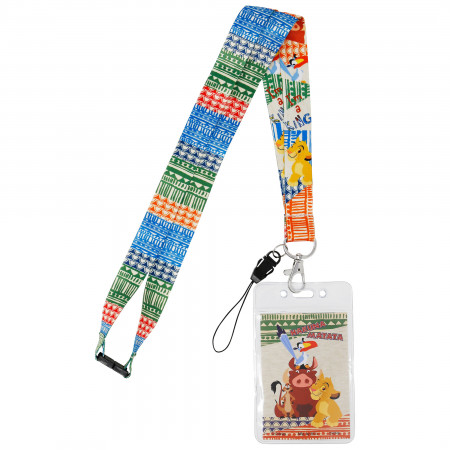 Lion King Colorful Lanyard