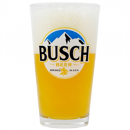 Busch Logo Pint Glass