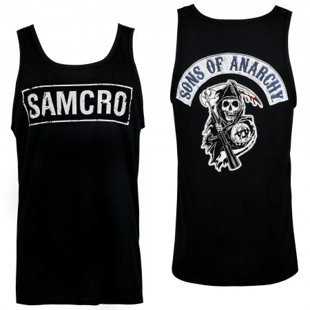 Sons Of Anarchy Men's Black SAMCRO Tank Top