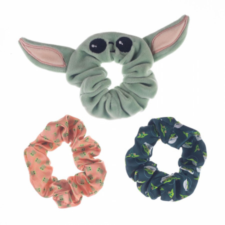 Star Wars The Mandalorian The Child 3-Pack of Scrunchies