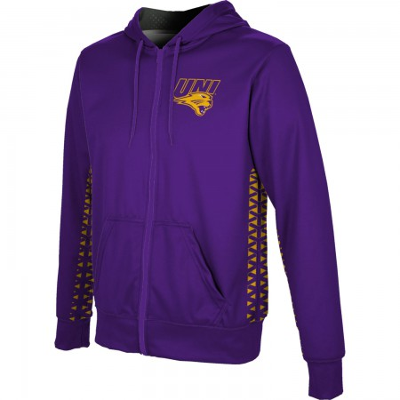 ProSphere Men's University of Northern Iowa Geometric Fullzip Hoodie