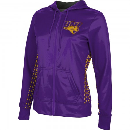 ProSphere Women's University of Northern Iowa Geometric Fullzip Hoodie