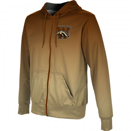 ProSphere Men's Western Michigan University Zoom Fullzip Hoodie
