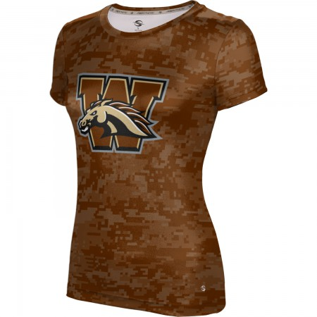ProSphere Women's Western Michigan University Digital Tech Tee