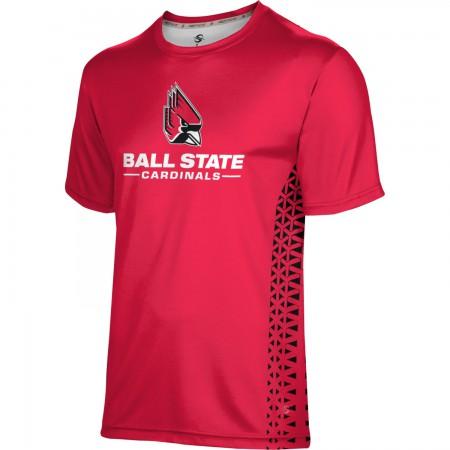 ProSphere Men's Ball State University Geometric Tech Tee