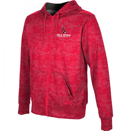 ProSphere Men's Ball State University Digital Fullzip Hoodie