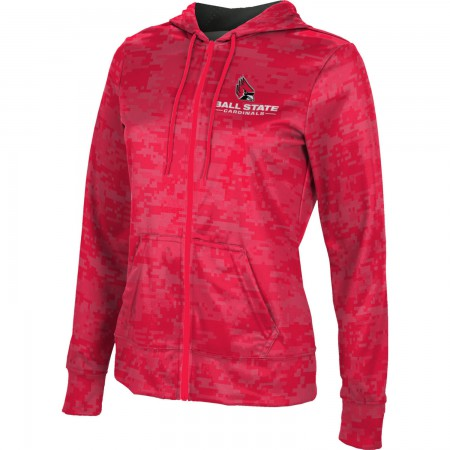 ProSphere Women's Ball State University Digital Fullzip Hoodie