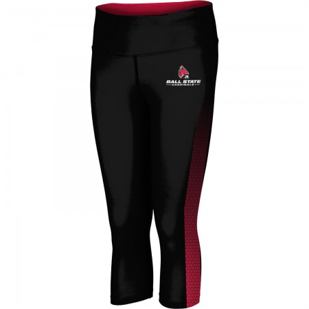 ProSphere Women's Ball State University Zoom Capri Length Tight